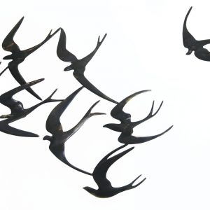 Swallows wall-mounted